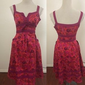 Marc By Marc Jacobs Floral Summer Dress Size 0
